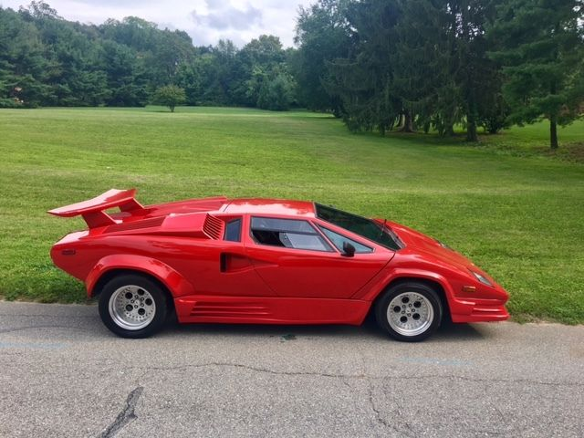 Quot No Reserve Quot Lamborghini Countach 25th Anniversary V8 Replica Kitcar Fiero Caddy For Sale In