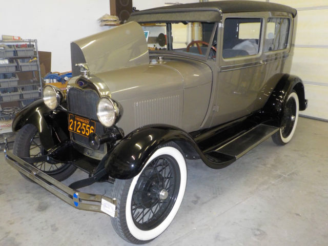 1928 ford model a two door sedan for sale in moseley for 1928 chevrolet 2 door coupe for sale