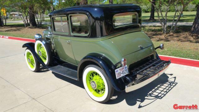 1931 Chevrolet 5-Passenger Coupe - Restored Original - Ford Victoria