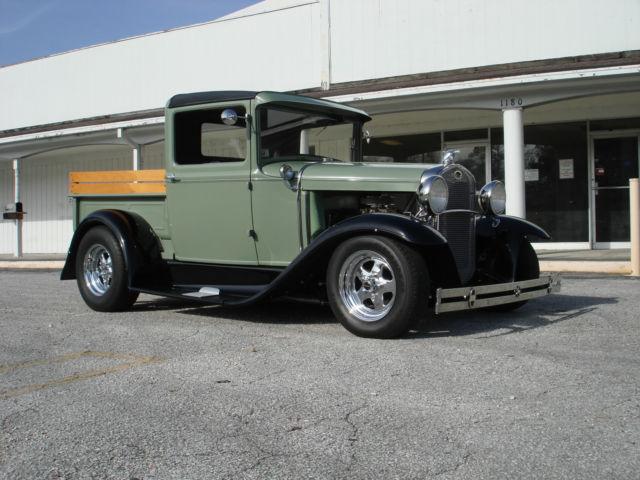 1928 1935 Any Make Flatbed Truck For Sale: 1931 FORD PICKUP TRUCK MODEL A STREETROD TOTAL RESTORATION