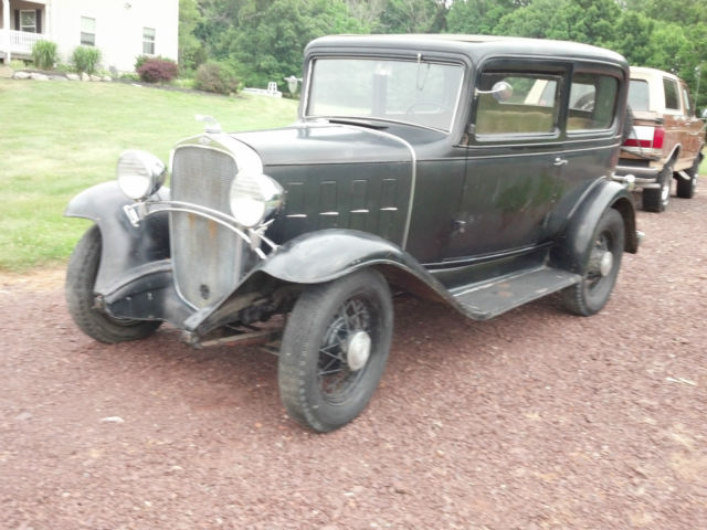 1932 chevrolet chevy confederate 2 door sedan original for 1932 chevy 4 door sedan