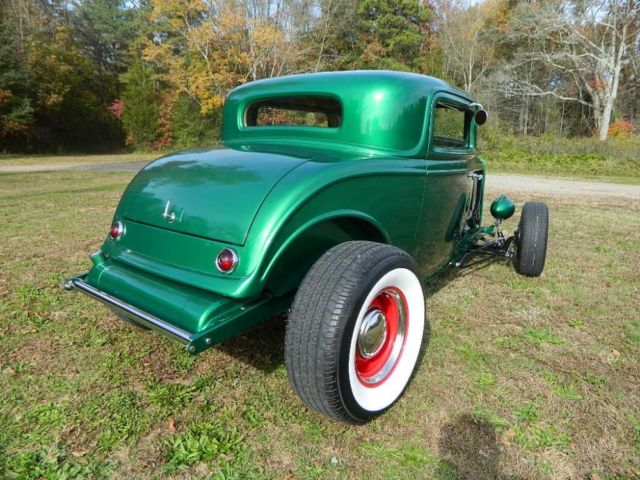 1932 ford 3 window coupe 32 frame steel hood grill v8 hot for 1932 ford 3 window coupe chassis