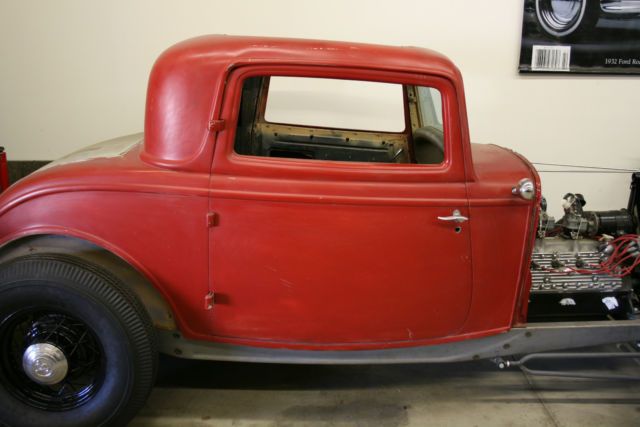 1932 ford 3 window coupe original steel body hot rod for 1934 ford 3 window coupe body for sale