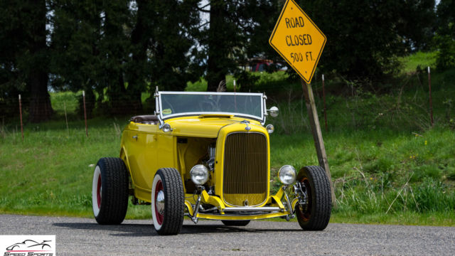 Ford Pantera Project Car For Sale >> 1932 Ford Highboy Roadster Blown SBC Show Winner Hotrod for sale in Portland, Oregon, United States