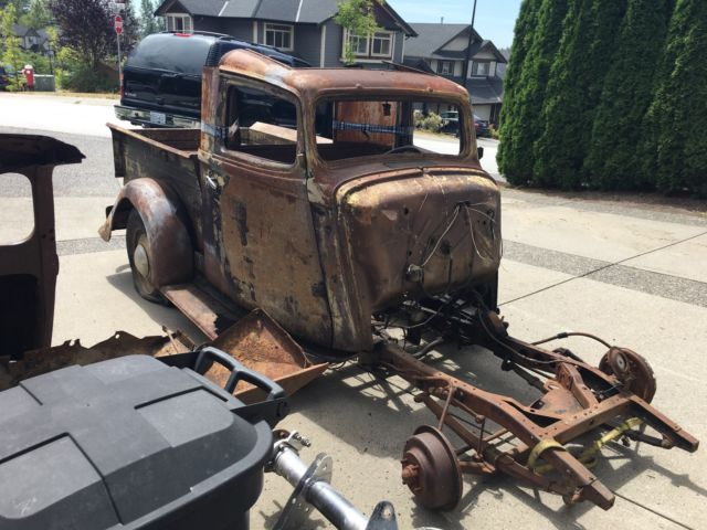 1933 1936 Willys Pickup Original Steel Gasser Patina