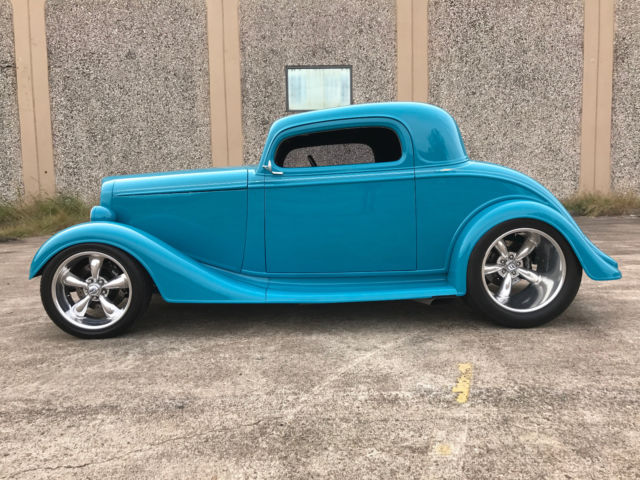 1934 Chevy 3 Window Coupe - 427ci Gear Drive for sale in Houston