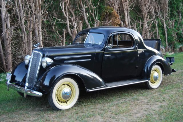 1935 chevrolet master 3 window coupe steel suicide doors for 1935 pontiac 3 window coupe