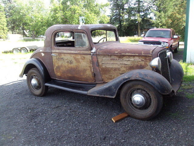 32 Ford Coupe For Sale Craigslist >> 1935 Chevy 3 Window Coupe for sale in Latah, Washington, United States