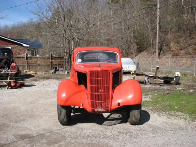 1935 Ford Coupe / Old School Nostalgia Drag Car Gasser for