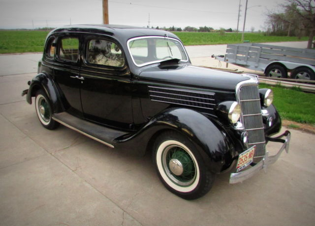 1935 ford model 48 sedan all original 41k miles for sale for 1935 ford 4 door sedan