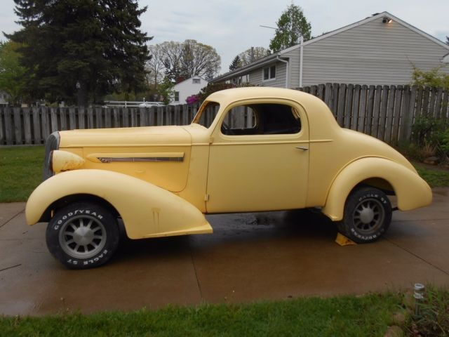 1936 Buick 3 Window Coupe Series 42 Straight 8 Not