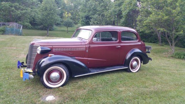 1938 Chevy Master Deluxe 2 door Town Sedan for sale in