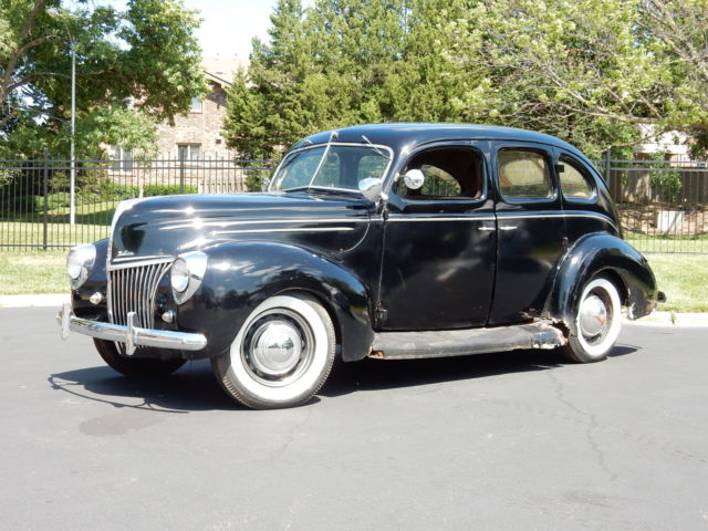 1939 ford v8 4 door sedan deluxe project car parts car