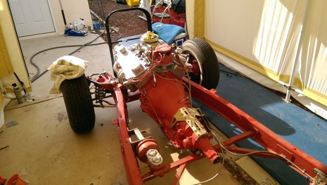 1940 Chevrolet Business Coupe Rolling Chassis Fatman Frame