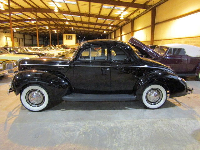 1940 Ford Deluxe 958 Miles 8 Cylinder Duncan Imports and