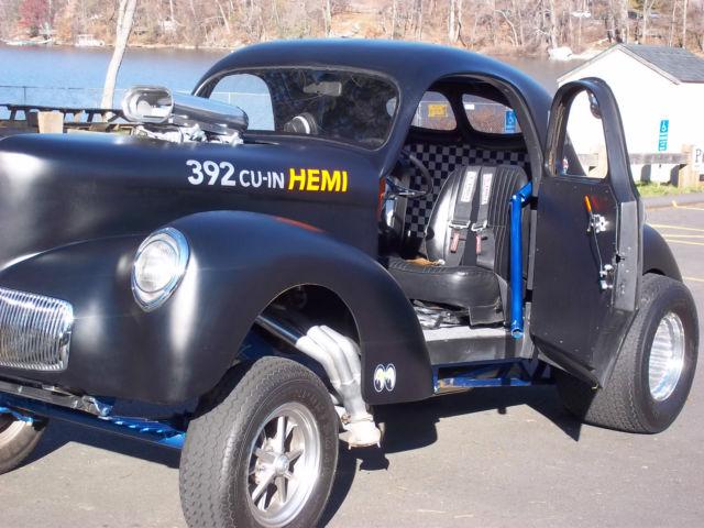 Tci Torque Converter >> 1941 41 Willys Coupe Gasser Blown Hemi Americar Hot Rod Rat Rod Street Rod for sale in New ...