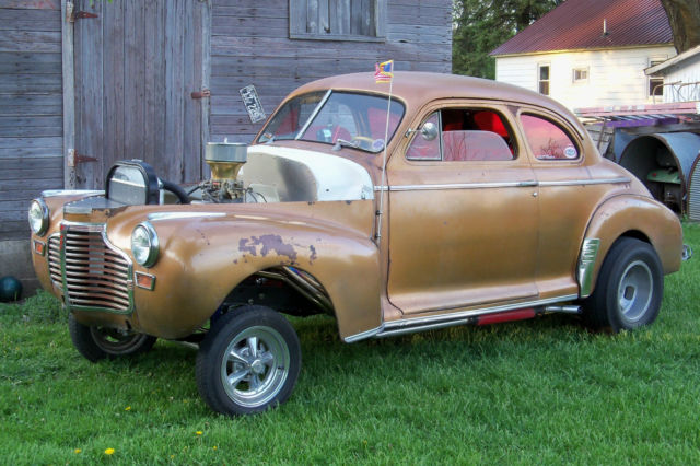 1941 Chevy Coupe Gasser Rat HOt Rod for sale in Mason City, Iowa