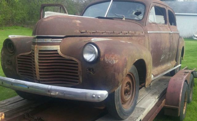 1941 Chevy Sedan Coupe, Rat Rod, Hot Rod, No Reserve for