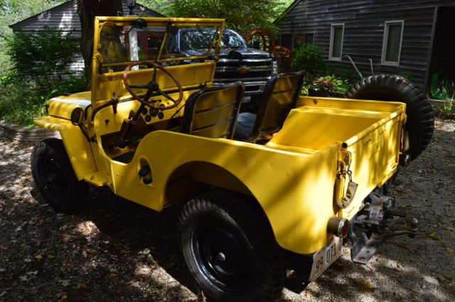 How To Write A Bill Of Sale For A Car >> 1946 CJ2A Willys Jeep with Rear PTO New brakes gas tank ...