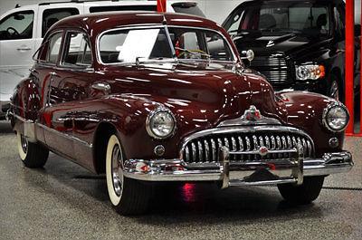 BUICK ROADMASTER SEDAN CALIFORNIA CAR RESTORED LIKE CADILLAC - Buick ford