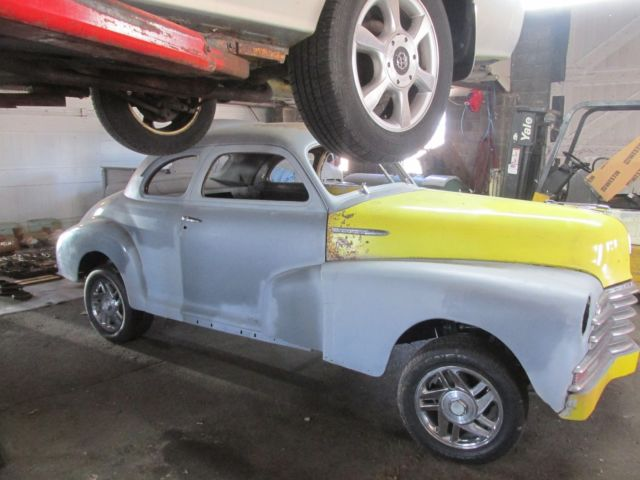 1948 CHEVY COUPE NICE SOLID CAR NO RESERVE 37 38 39 40 41 47