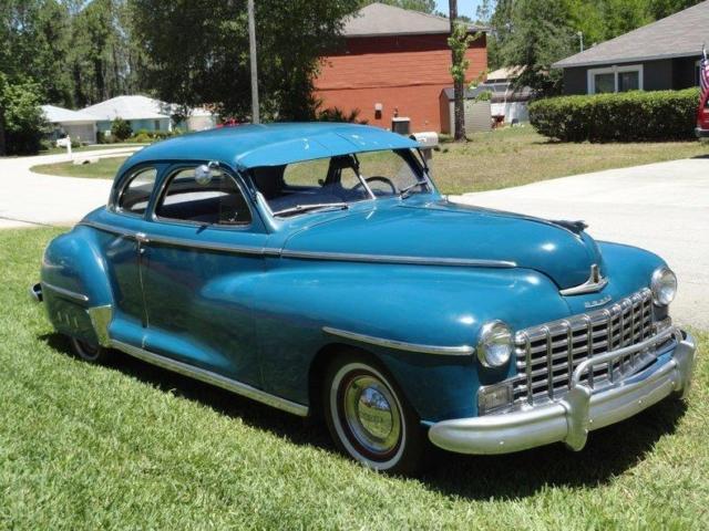 1948 dodge club coupe rare 83853 miles blue 2 door coupe for 1948 dodge 2 door sedan