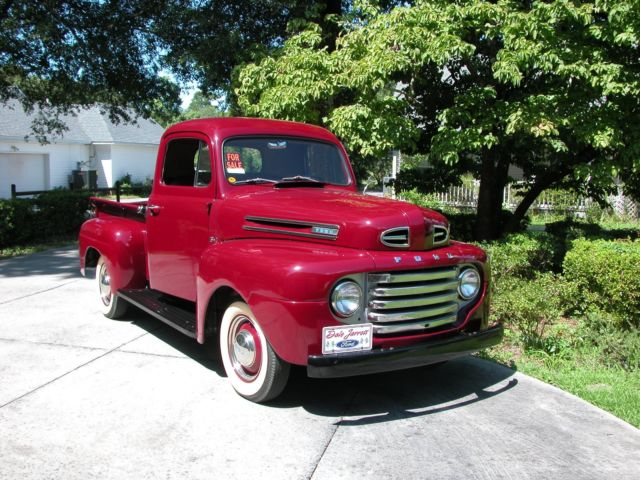 Ford F Pickup Truck on 1948 Ford Truck Vin Number Location