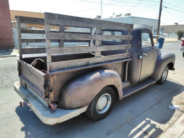 1950 chevy 3100 truck shortbed patina ratrod 3100 not 1948 1949 1951 1953 3100 Chevy Chassis prevnext