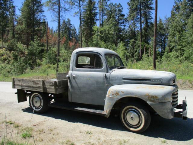 1950 Ford Truck F1 F 1 F 1 Original 1940 1941 1945 1946