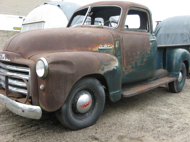 1950 gmc pickup 1 2 ton 7 39 bed patina perfect survivor 5 window accessories for sale in. Black Bedroom Furniture Sets. Home Design Ideas
