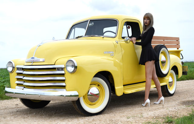 1951 chevrolet 3100 pickup chevy truck not c10 ford 1952