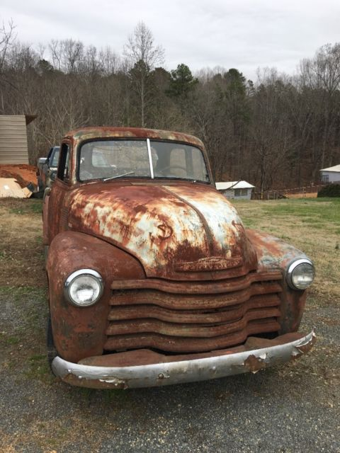 1951 chevy truck 5 window ratrod patina for sale in randleman north carolina united states. Black Bedroom Furniture Sets. Home Design Ideas