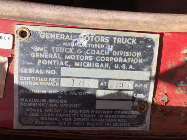 1951 GMC Bruco Pumper Fire Truck - Rare Body- Purchased on Fast 'n