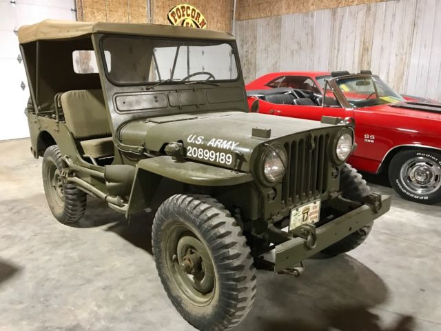 Jeeps For Sale In Iowa >> 1951 Willys Jeep MC 38 M 38 Military Army Restored MUST ...