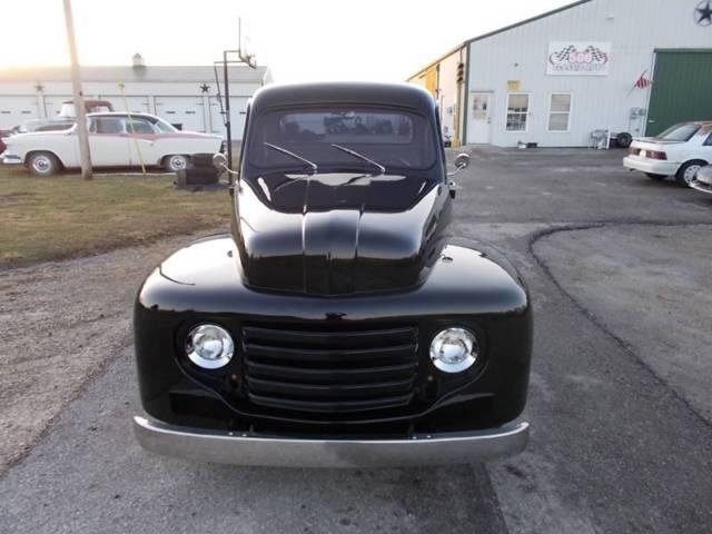 1952 FORD F1 SHORT BED Truck, 454 ZZ V8, 3 SP AUTO, Hot Rod Pro