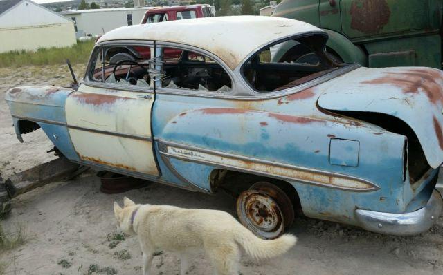 1953 chevy belair 2 door post for sale in spring creek for 1953 belair 2 door