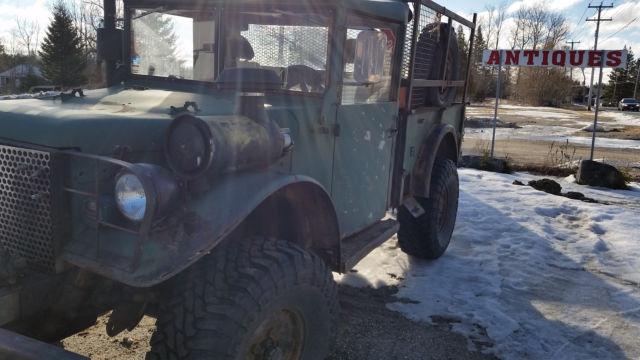 1953 Dodge Military M37,Perkins 1004T Diesel,NV4500 Transmission,Hyd