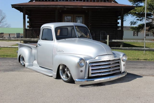 1953 gmc truck rat hot restomod rod bagged slammed pickup