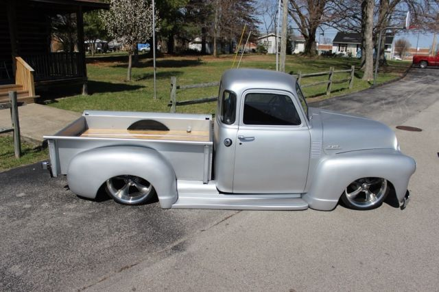1953 Gmc Truck Rat Hot Restomod Rod Bagged Slammed Pickup