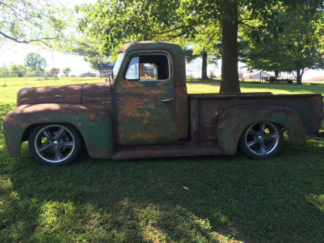 1953 international rat rod truck dodge dakota chassis chevrolet 3100 Homemade Pickup Truck Rat Rod prevnext