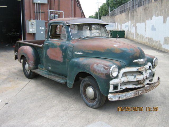 1954 chevy 5 window truck 3100 no reserve rat rod barn for 1954 chevy truck 5 window for sale