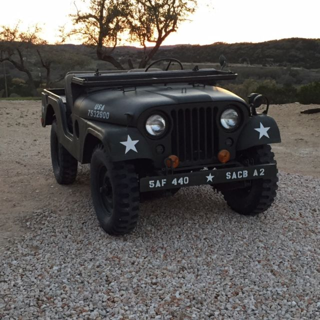 1954 willys m38a1 military jeep for sale in wimberley texas united states. Black Bedroom Furniture Sets. Home Design Ideas