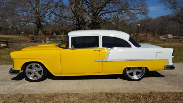 1955 Chevy 210 Custom Sedan Pro Touring Built Belair Chevrolet Tri Five Ls6 V8 For Sale In Tyler