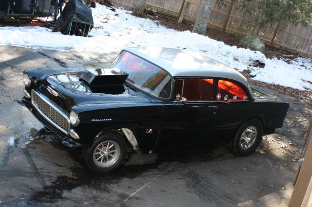 1955 Chevy 210 Gasser 468 Big Block Muncie 4 speed Dana 60 Hot Rod ...