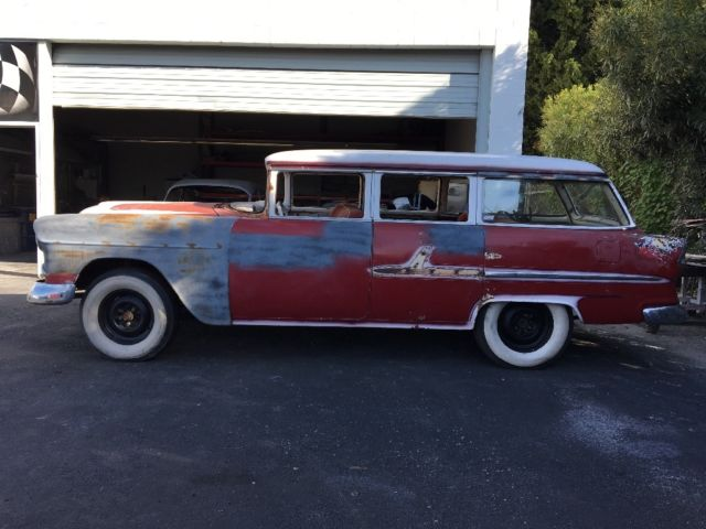 1955 Chevy Wagon Gasser Hot Rod Rat Rod Patina For Sale In