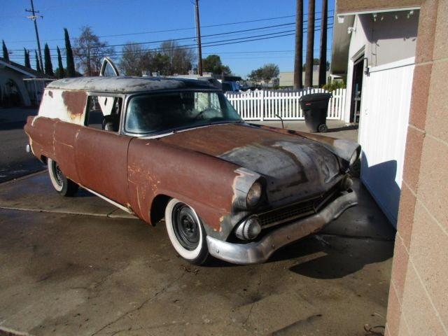 1955 ford sedan delivery wagon COURIER 2 door ranch squire custom