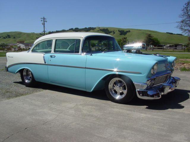 1956 Chevrolet 210-Blown Big Block-Frame Off Build-Perfect Show Car