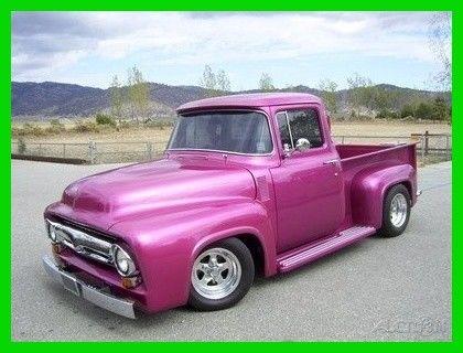 1956 ford f 100 big window pickup 454 425hp 700 r 4 for 1956 f100 big window for sale