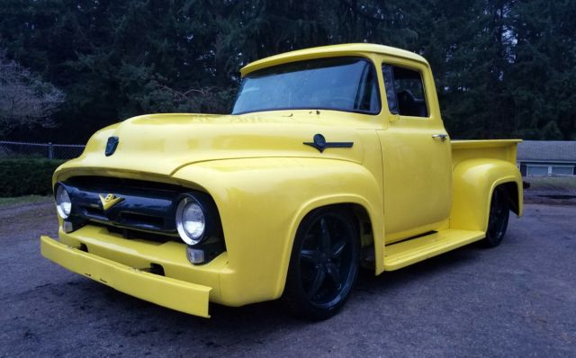1956 ford f100 with 351 v8 with automatic transmission no reserve for sale in puyallup washington united states 1956 ford f100 with 351 v8 with automatic transmission no reserve for sale in puyallup washington united states