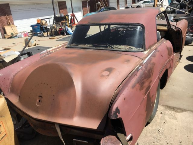 1956 Lincoln Continental Mark II parts car great frame for